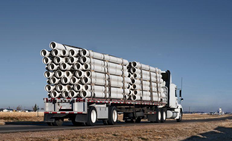 concrete pipe transport