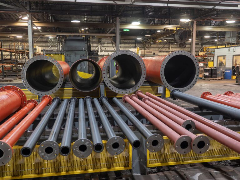 NAPF Fabricated Ductile Pipe